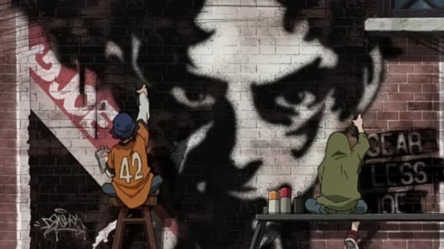 Joe graffiti