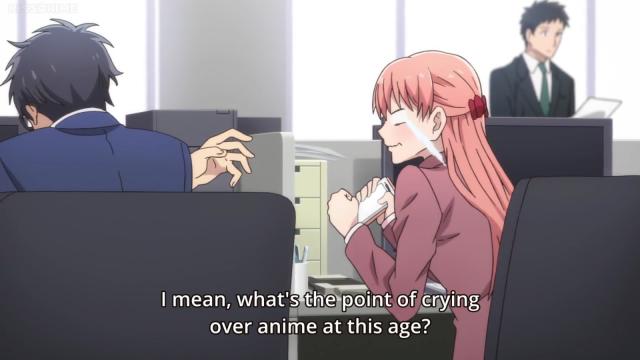 wotakoi dont cry over anime