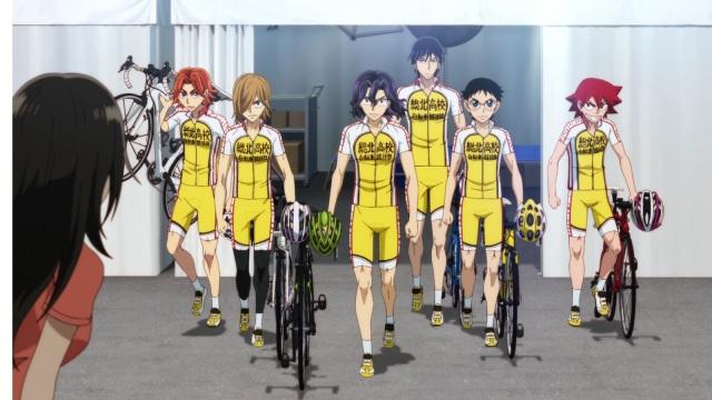 yowamushi pedal glory Line team sohoku