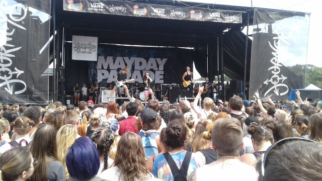 Mayday Parade Warped Tour