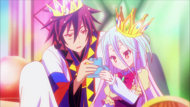 Shiro_and_Sora_playing_together_after_being_crowned